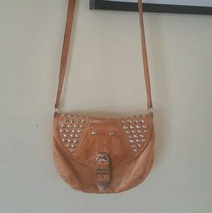 Rebecca Minkoff Small Shoulder Studded Brown Bag